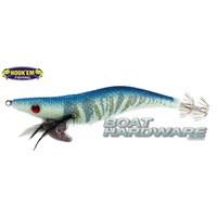Squid Jig Hosaku 3 grams Blue Tiger (UV Reactive)