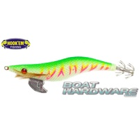 Squid Jig Hosaku 3.5 grams Lime Pink (UV Reactive)