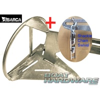 Super Sarca 2 Anchor & Swivel Shackle Kit