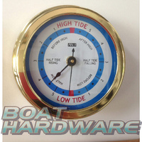Tide Clock - Polished Brass